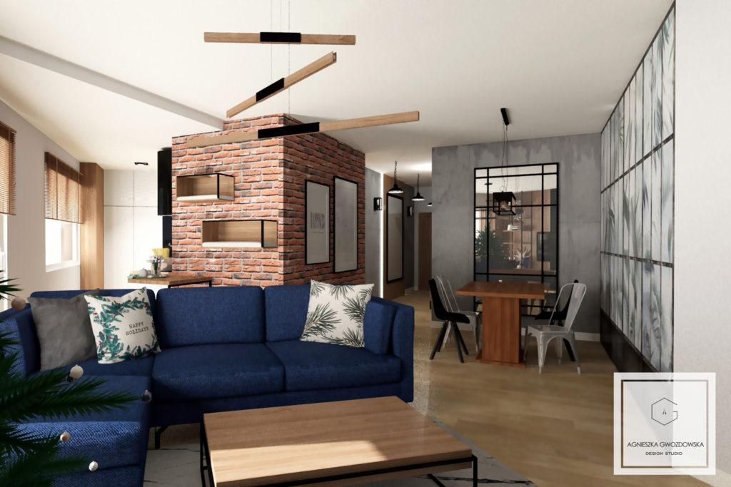 agnieszka gwozdowska design studio projektant wnetrz lodz salon industrialny (5)