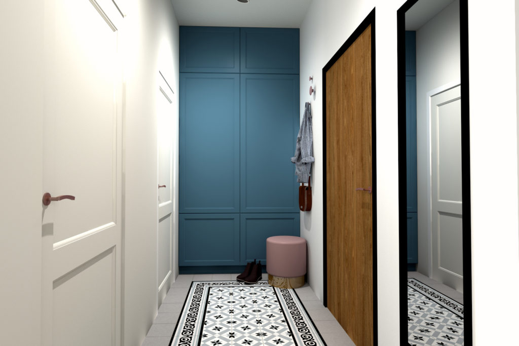 agnieszka gwozdowska design architekt projektant wnetrz lodz mieszkanie lakowa (8)